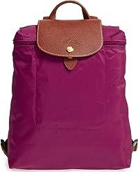Longchamp Le Pliage Nylon and Leather Backpack, ...