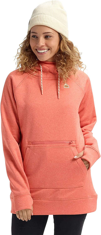 Burton Oak Long Pullover Hoodie Womens