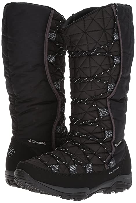 Columbia Women's Loveland Omni-Heat Snow Boot, Black, Earl Grey, 11 B US:  Buy Online at Low Prices in India - Amazon.in