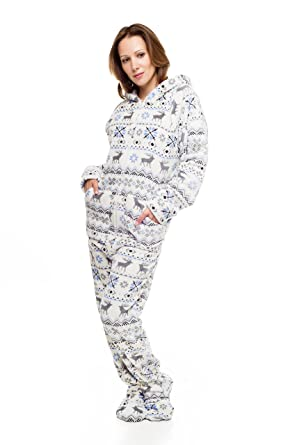 Amazon.com: Christmas Kajamaz: Adult Onesie Pajamas: Clothing