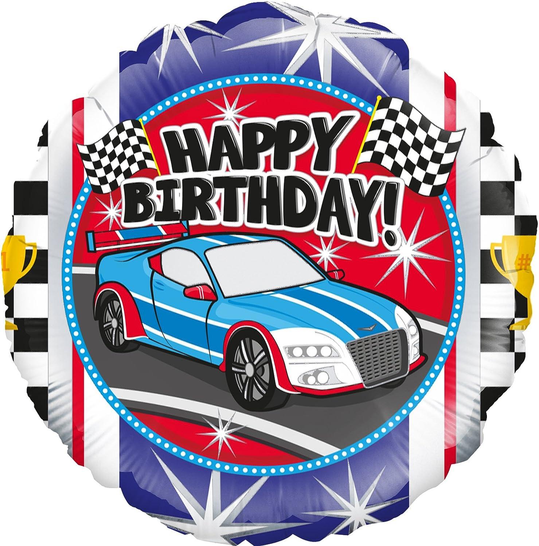 Ballon Rond En Aluminium Avec Inscription Happy Birthday 45 Cm Amazon Fr Jeux Et Jouets