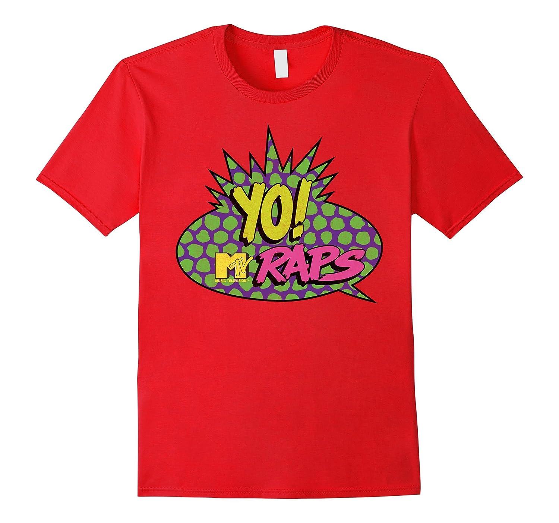 MTV - Classic Yo! MTV Raps T-Shirt-ah my shirt one gift