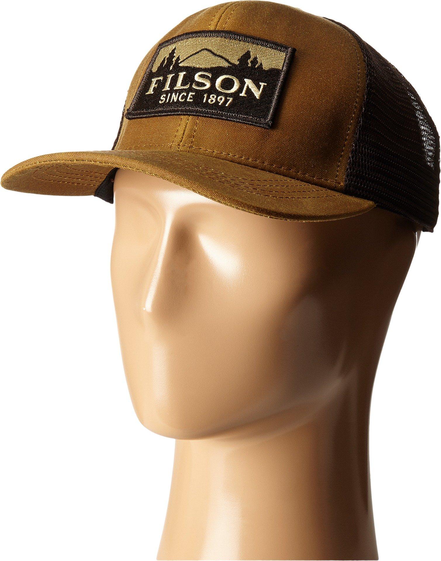 Filson Unisex Logger Mesh Cap Dark Tan Hat