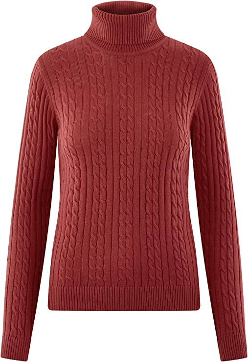 oodji Collection Mujer Jersey de Punto Texturizado con Trenzas ...