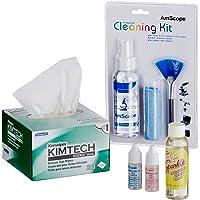AmScope mlab-cls-cki-kim microscopio funcionamiento y Kit de mantenimiento–aceite