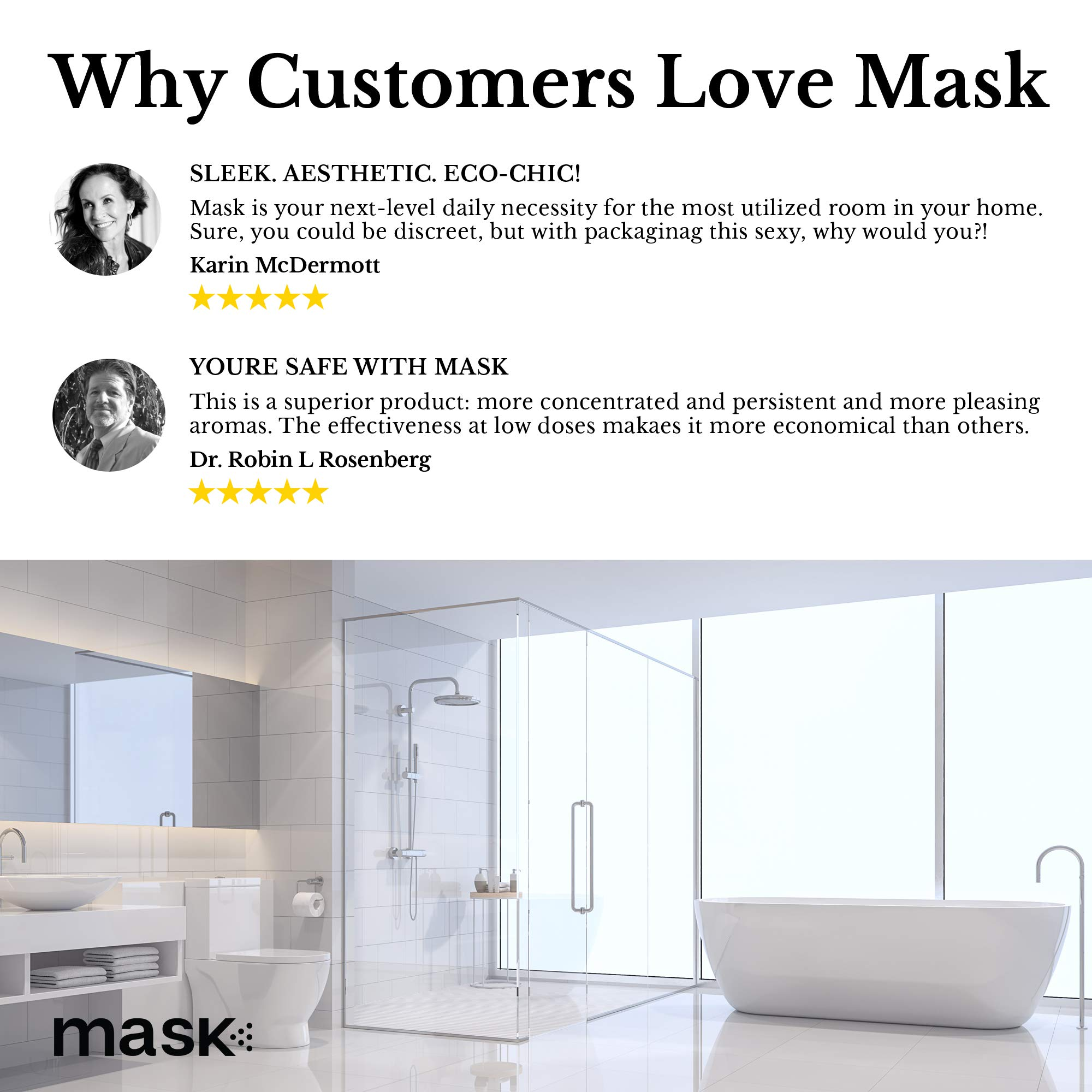 Mask Toilet Spray, Mixed Fragrance, 2-Ounce (6 Pack), Before You Go Spray For Bathroom by Mask (Image #9)