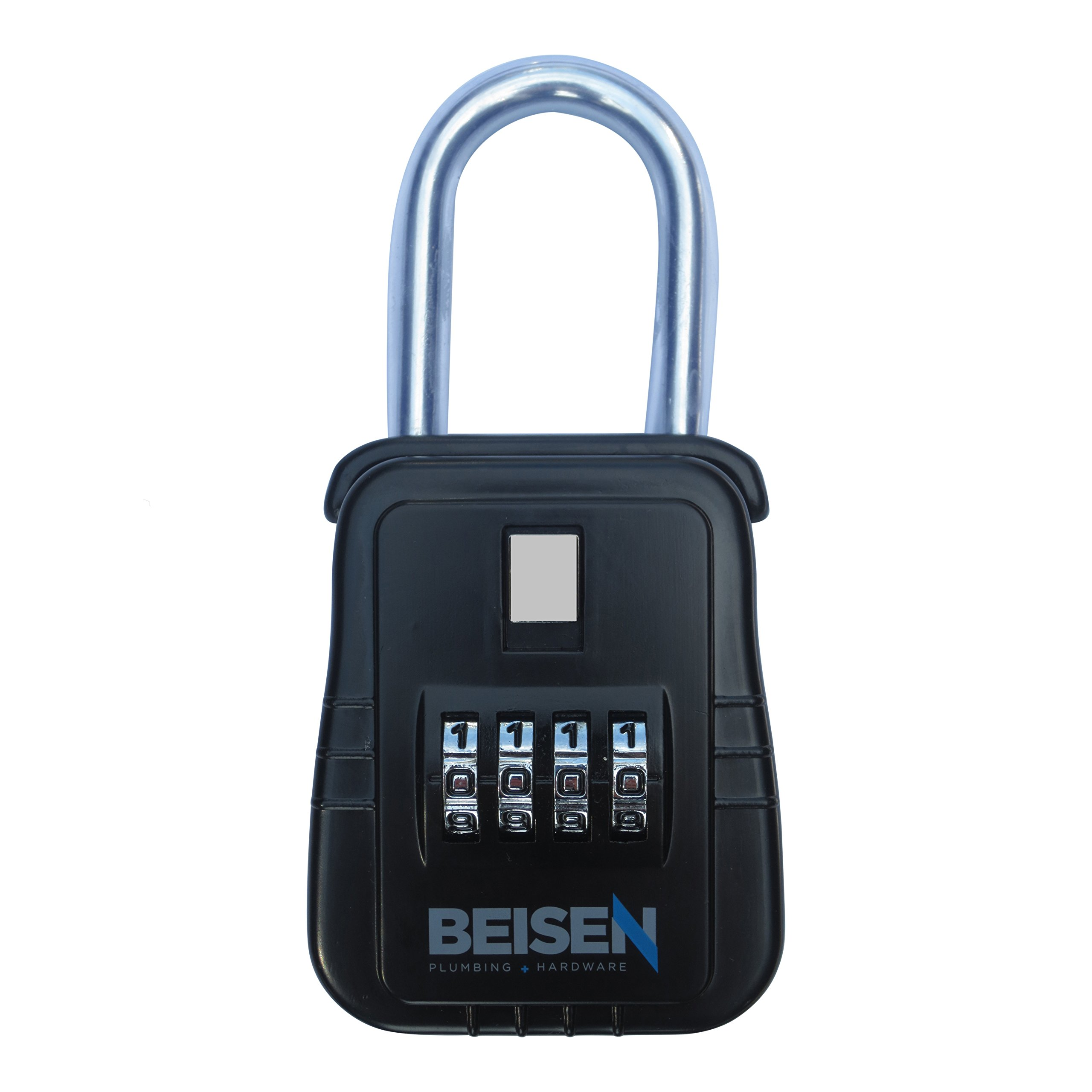 Beisen Key Safe Realtor Lock Box with Set-Your-Own Combination Lock