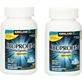 Kirkland Signature Ibuprofen Liquid Softgels, 2 Pack(180 softgels)