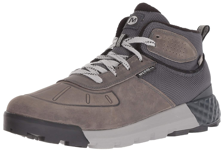 sleek 100% quality aesthetic appearance Merrell Men's Convoy Mid Polar Waterproof Ac+ Snow Shoe