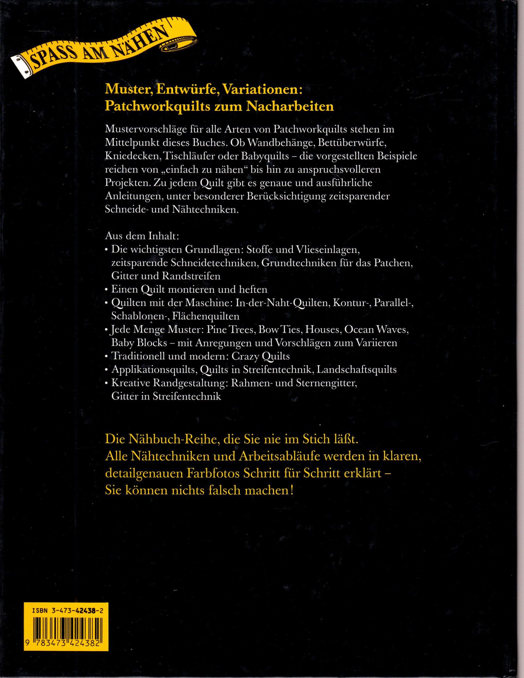 Patchwork: Quilts einfach und schnell genäht: Amazon.de: Bernadette ...