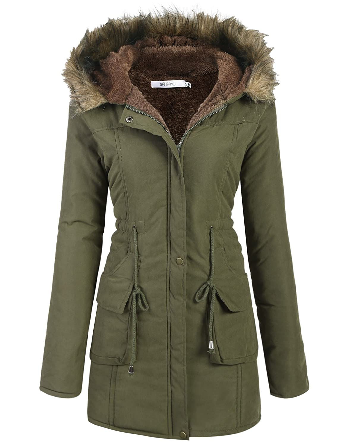 Hooded Parka Jacket Womens Designer Jackets