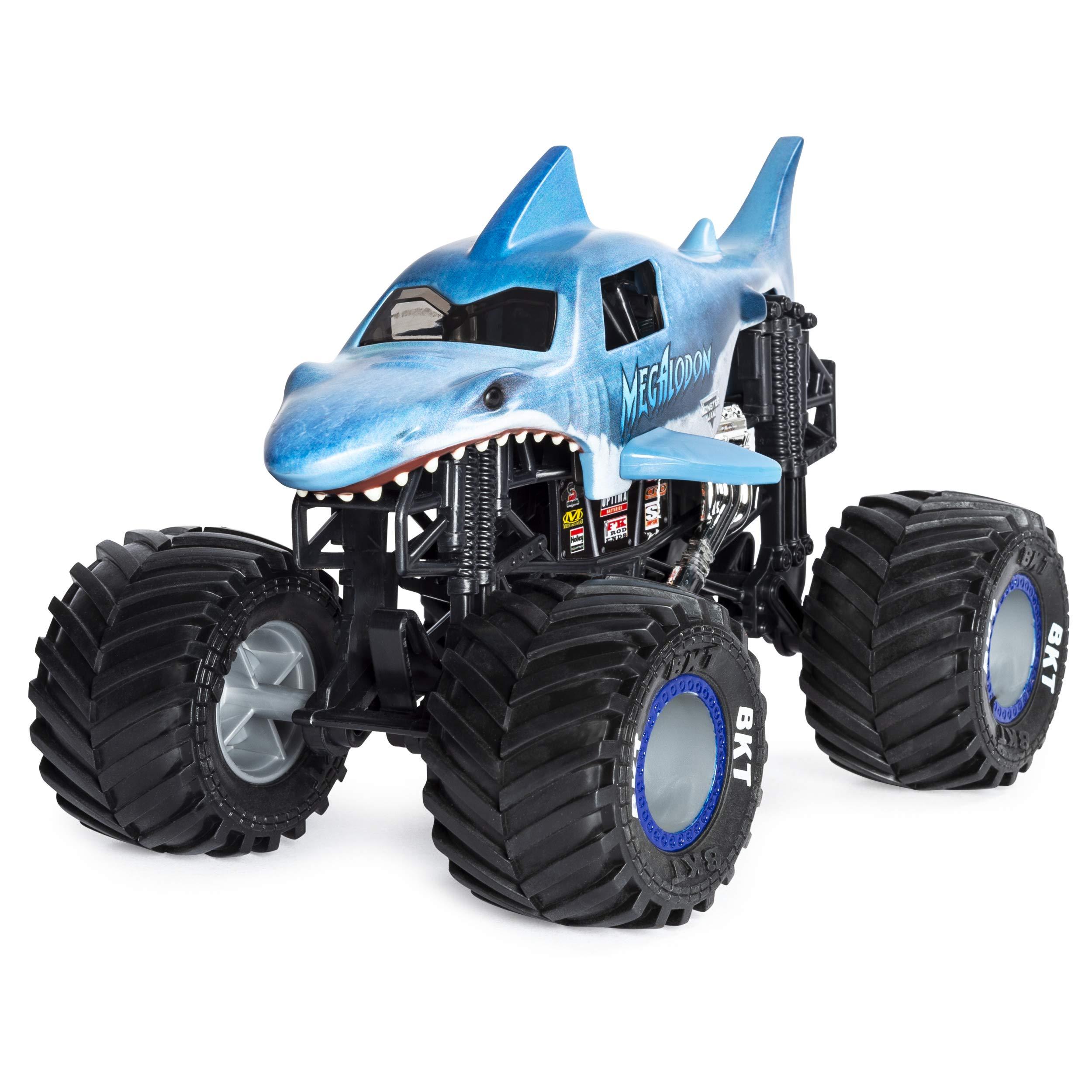 Monster Jam Official Megladon Monster Truck, Die-Cast Vehicle 1:24 Scale by Monster Jam (Image #3)