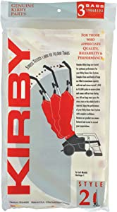 Kirby 19068103 Disposable Bag/Sty 2, 3pk, 1