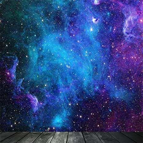 AOFOTO 8x8ft Dreamy Starry Sky With Wooden Board Photography Background  Universe Galaxy Cosmic Nebula Backdrop Night Scenic Photo Studio Props  Adult