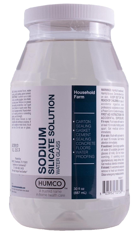 Humco 272730001 Sodium Silicate Solution 30 oz, Shape