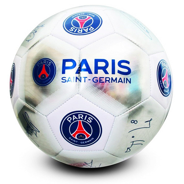 Paris Saint Germain FC oficial plata firma fútbol (tamaño 5) tamaño 5 Hy-Pro International Ltd PS04548