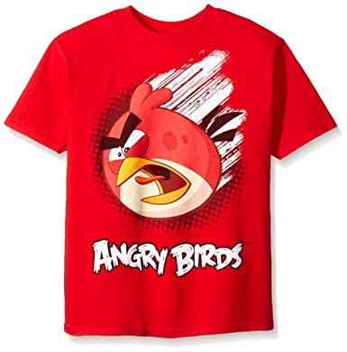 Amazon.com: Angry Birds Boys' Short Sleeve T-Shirt: Clothing