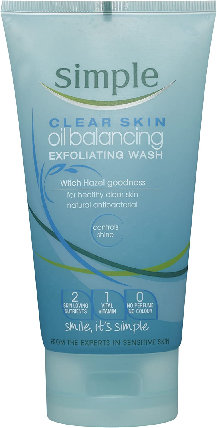 Clear Skin Oil Balancing Exfoliating Wash by Simple #6
