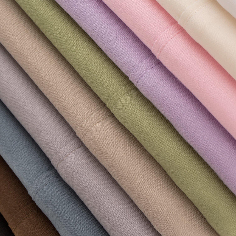 Malouf Fine Linens® 100% Brushed Microfiber Super Soft 4-Piece Luxury Bed Sheet Set - Wrinkle Resistant