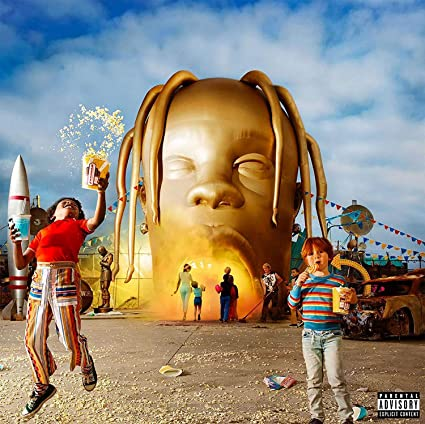 aed904505ba9 Lost Posters ALBUM COVER POSTER thick TRAVIS SCOTT: ASTROWORLD music 2018  giclee RECORD LP REPRINT #'d/100!! 12x12: Amazon.co.uk: Kitchen & Home
