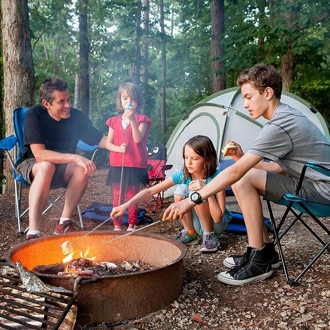 Amazon.com: CampSpark - Juego de 4 palillos telescópicos ...