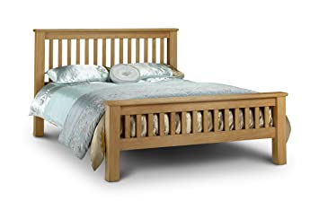 check out 90a7c c23b2 Julian Bowen Amsterdam Oak Super King Bed