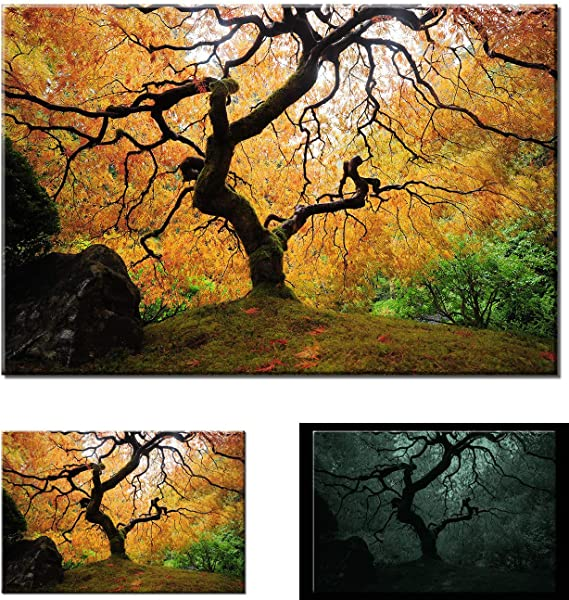 Poster Home Decor Maple Fall Glory Art Print // Canvas Print Wall Art