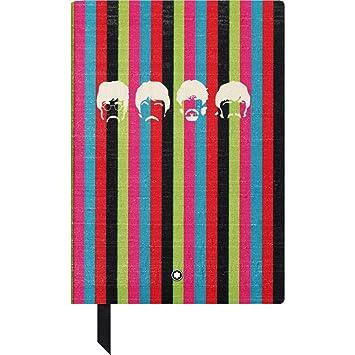 Montblanc The Beatles 116400 - Cuaderno #146 Fine Stationery - Diario de piel con páginas de líneas - Bloc para apuntes A5 - 150 x 210 mm: Amazon.es: ...