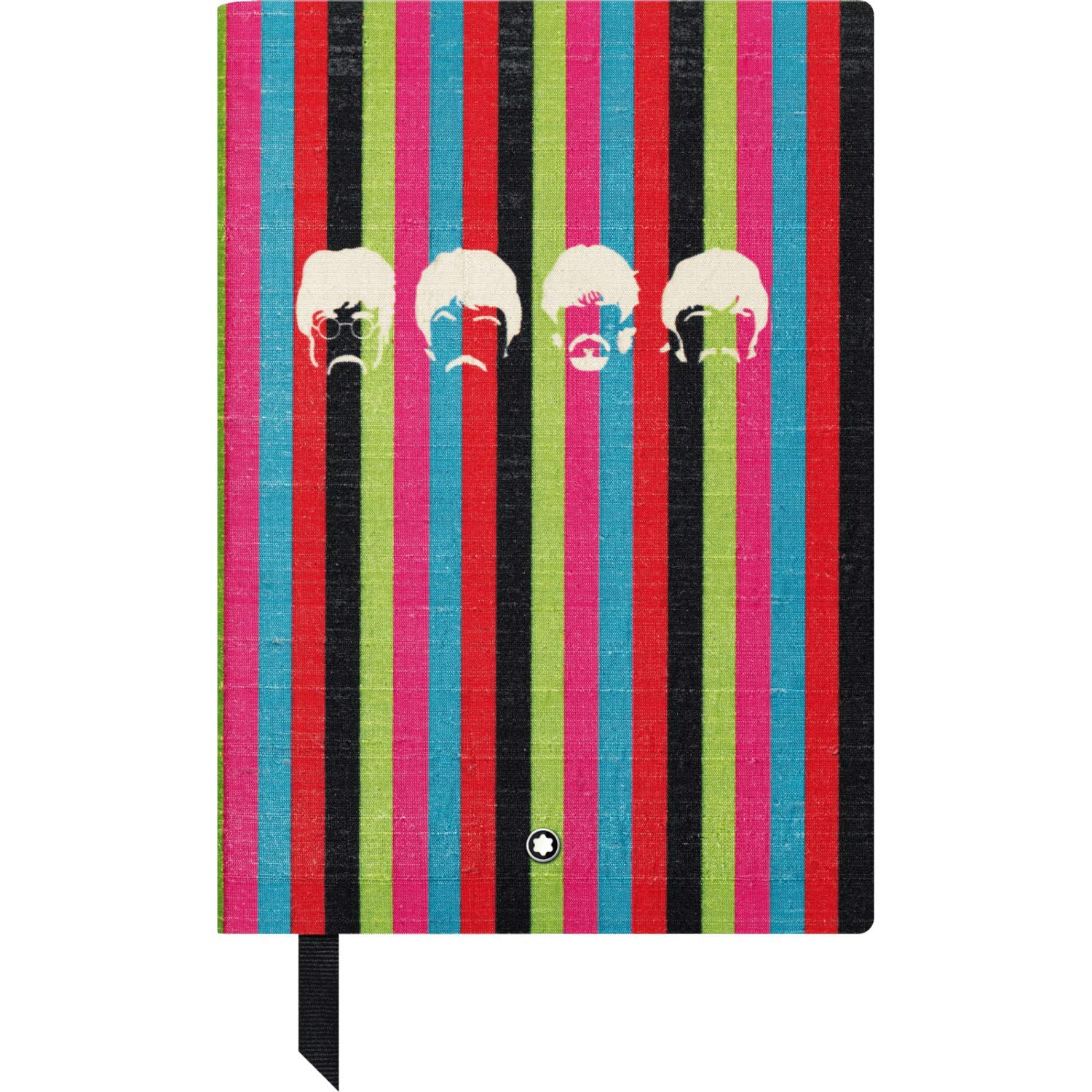 Montblanc The Beatles Fine Stationary Unisex Multi-Color Lined Leather Notebook Accessories 116400