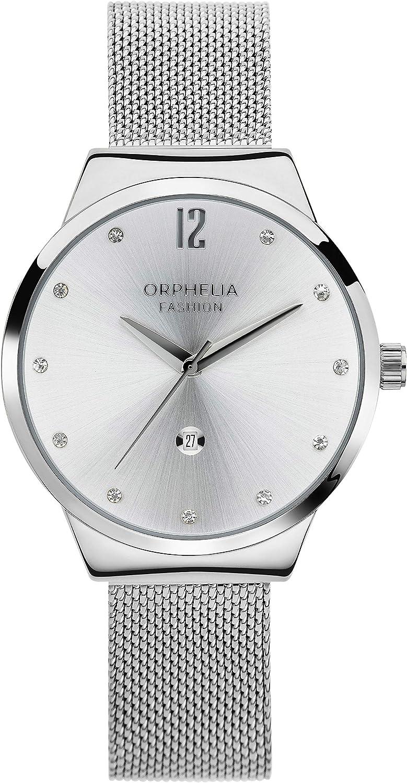 Orphelia Fashion Reloj de Pulsera para mujer Analógico Optima con correa de acero inoxidable