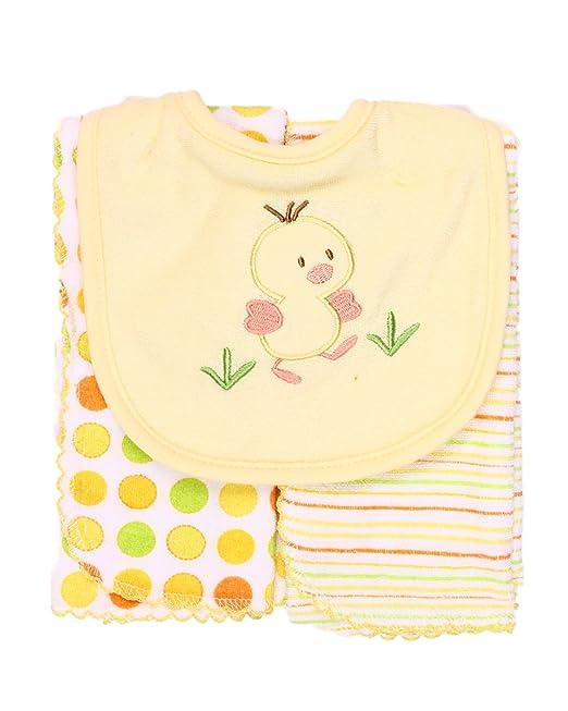 Amazon.com : Unisex-bebé recién nacido Conjunto De Bib y Dos ...