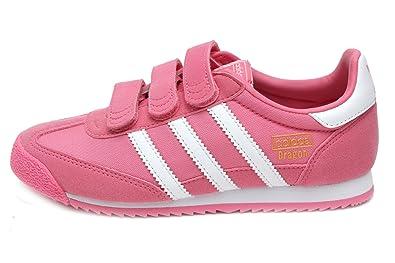 drachen og cf (vorschule) in rosa - weißen von adidas