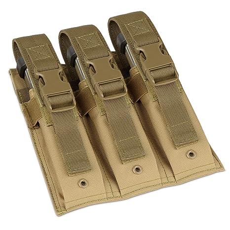 Amazon.com   Savior Equipment Tactical Open-Top Triple Pistol MOLLE ... 243534232b
