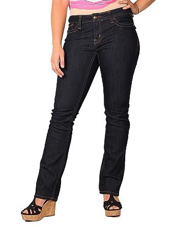 227c6bbd8de Amazon.com  Zana Di Womens Junior Plus Boot-Cut Fashion Jeans 5 ...