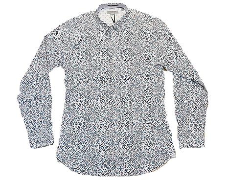 e4630d73f4777 Ted Baker Thornie Floral Print Men s Long Sleeve Shirt TA6M GA36 (XXLarge)