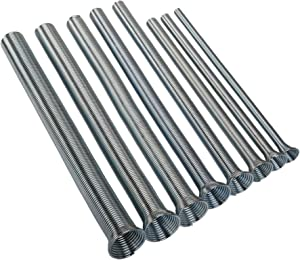 Imperial Tool 201F Spring Type Tube Bender Set of 8 for 1/4