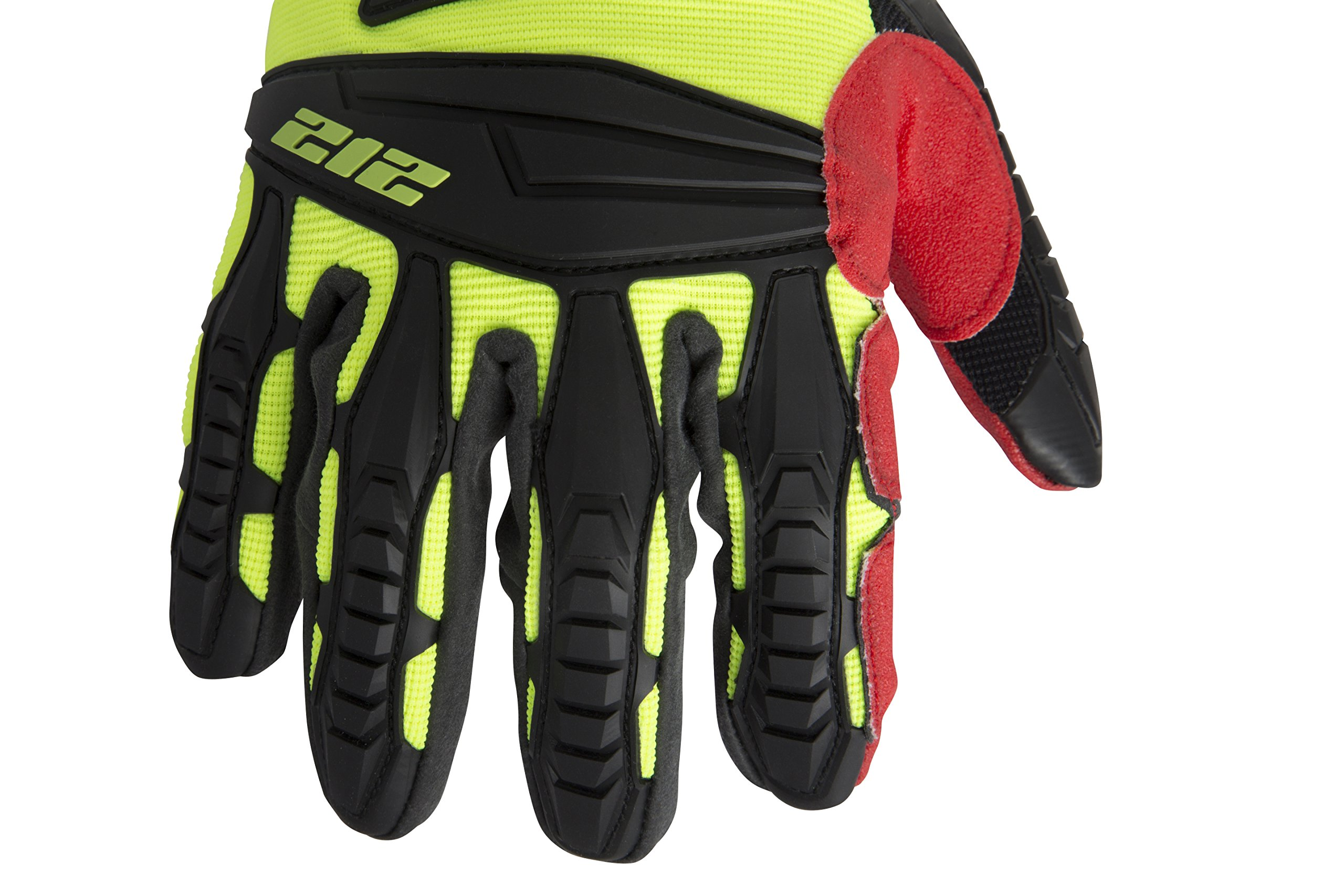 212 Performance Gloves IMP-88-009 Super Hi-Vis Impact Gloves, Medium by 212 Performance Gloves (Image #5)