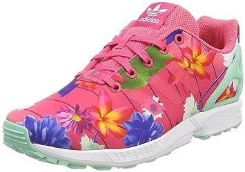 the best attitude 8fc0b 2f23e adidas ZX Flux J Chaussures de Fitness Mixte Enfant, Rose Rosrea Ftwbla 000,