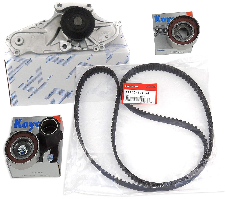 TIMING BELT KIT as in Picture .GENUINE//OEM Kit : T-Belt, Water Pump, Pulleys