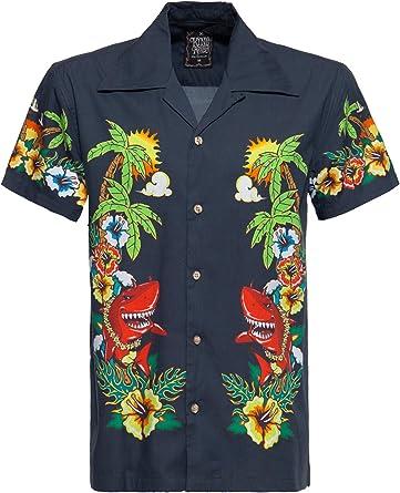 King Kerosin Mermaid Camisa para Hombre: Amazon.es: Ropa y accesorios