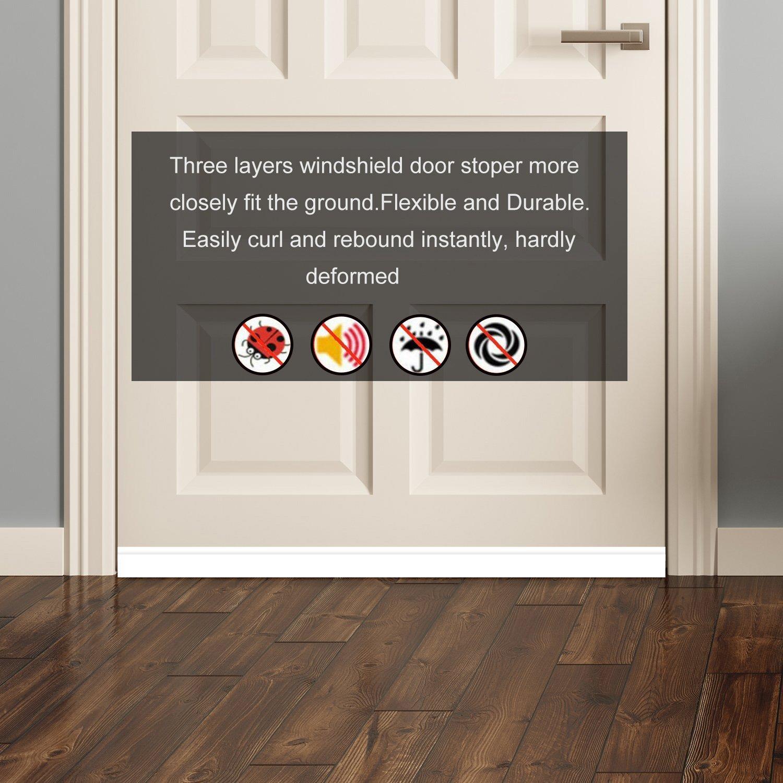 Door Draft Stopper Under Door Insulator Door Sweep