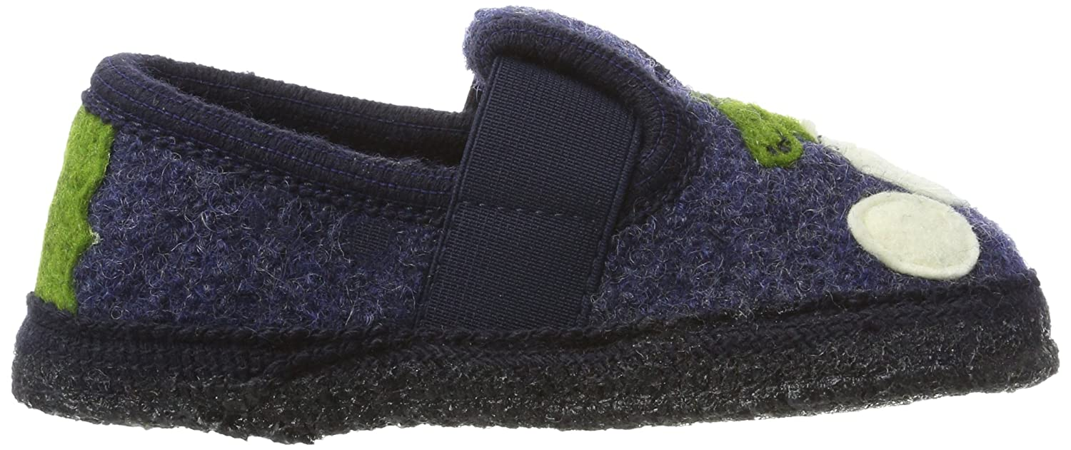 Haflinger Montants Mixte Chaussons Schnappi Slipper Enfant Amazon SIqpwrSxt