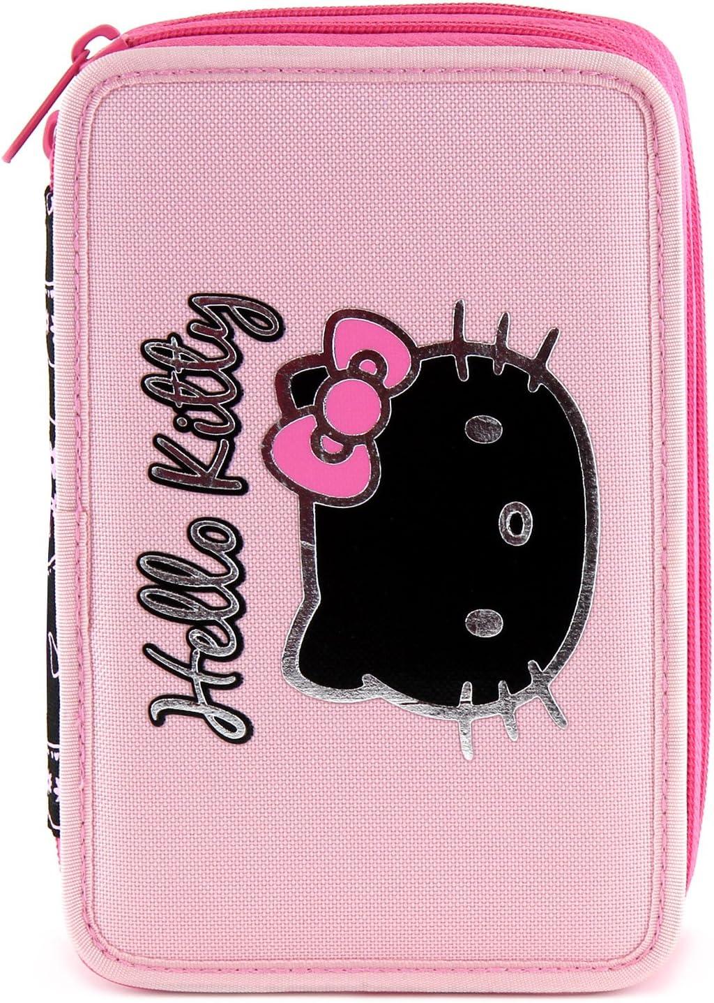 Hello Kitty 11-1937 - Estuche Doble Completo para Escuela: Amazon.es: Equipaje