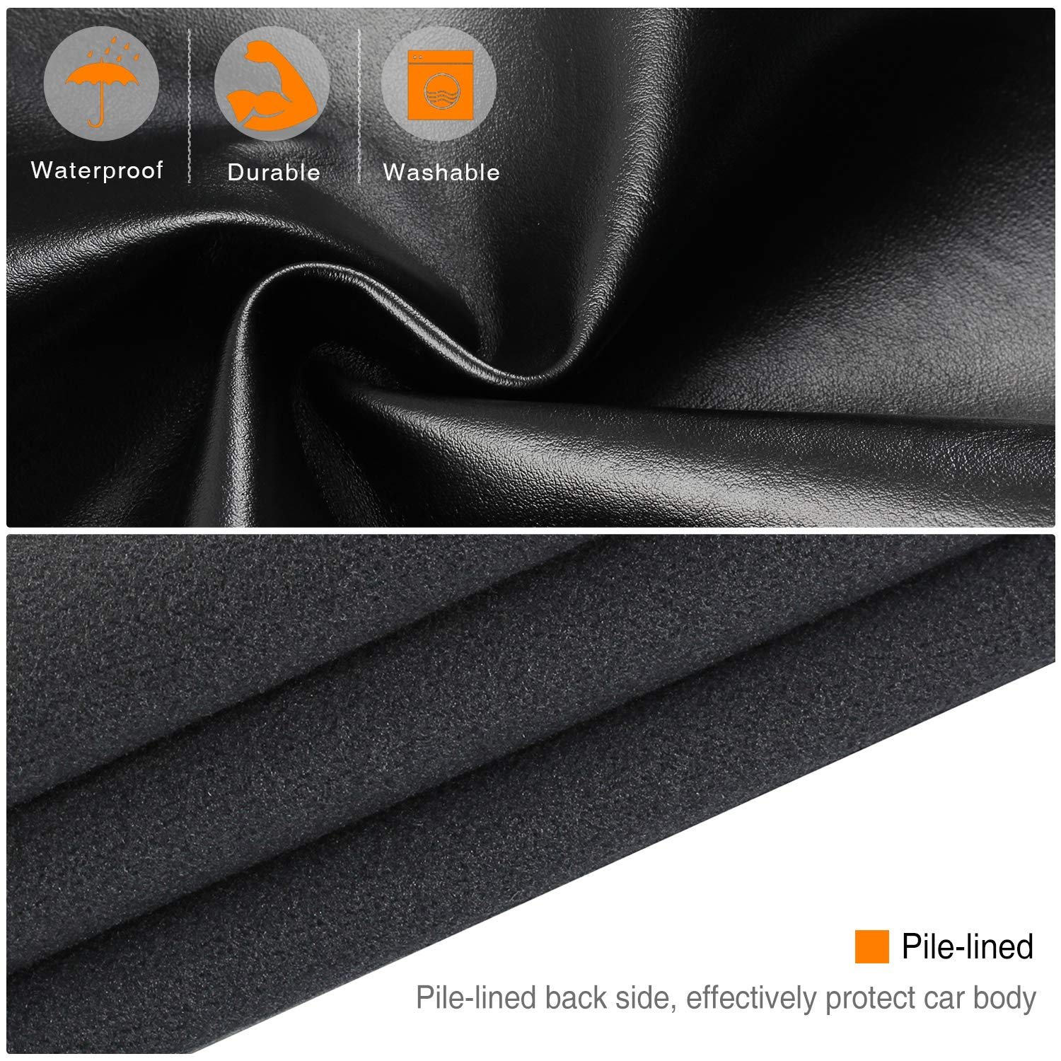 RUPSE Automotive Mechanic Magnetic Fender Cover Mat Pad Protective Mat for Repair Automotive Work Seat Cover Protector