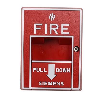 Siemens msi-10b 500 - 893080 MXL IXL XL3 estación manual de alarma contra incendios