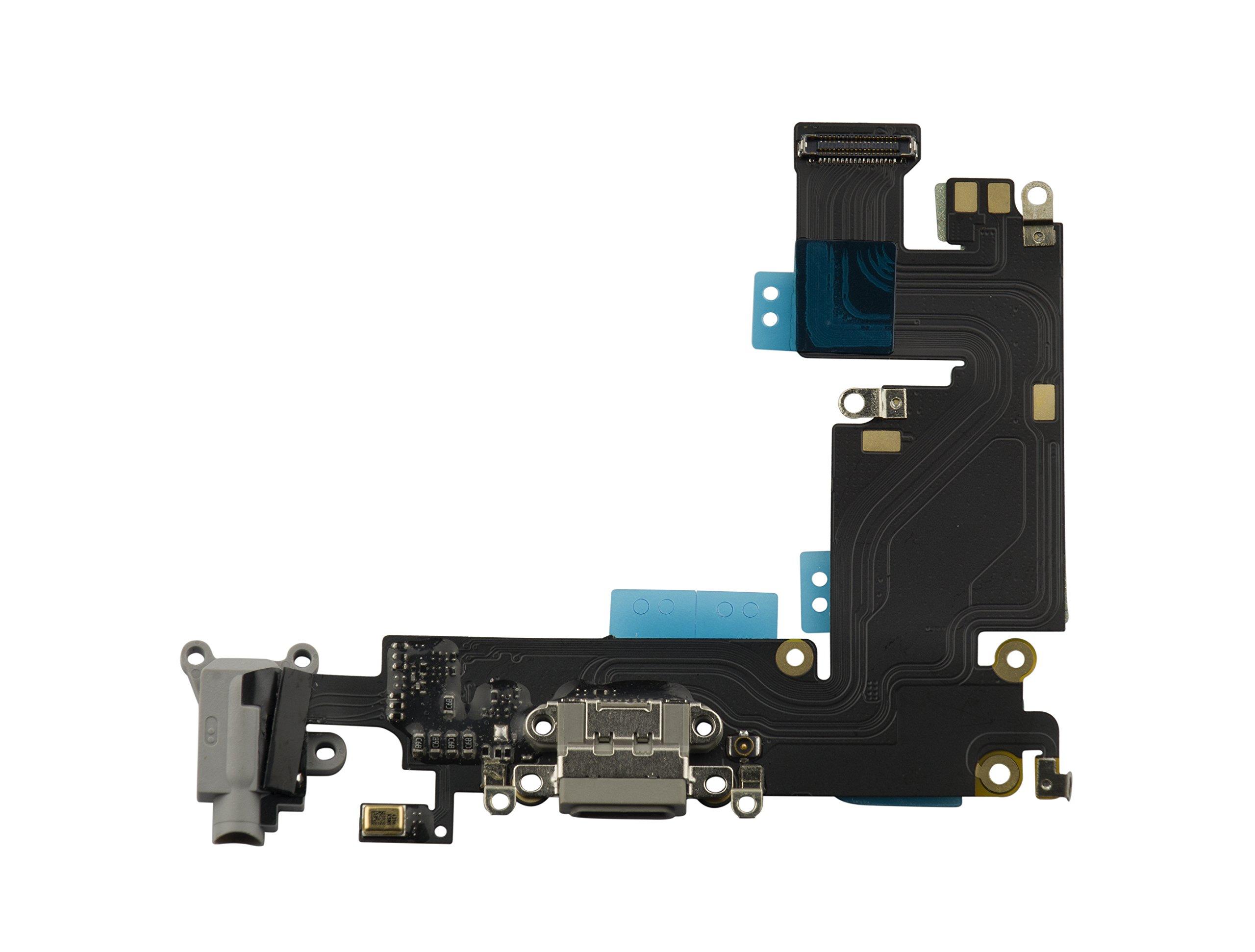Puerto de Carga para iPhone 6 PLUS 5.5 Grey HKCB