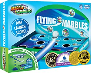 Flying Marbles Action Game: The Award Winning Family Table Game - AIM! Launch! Score!