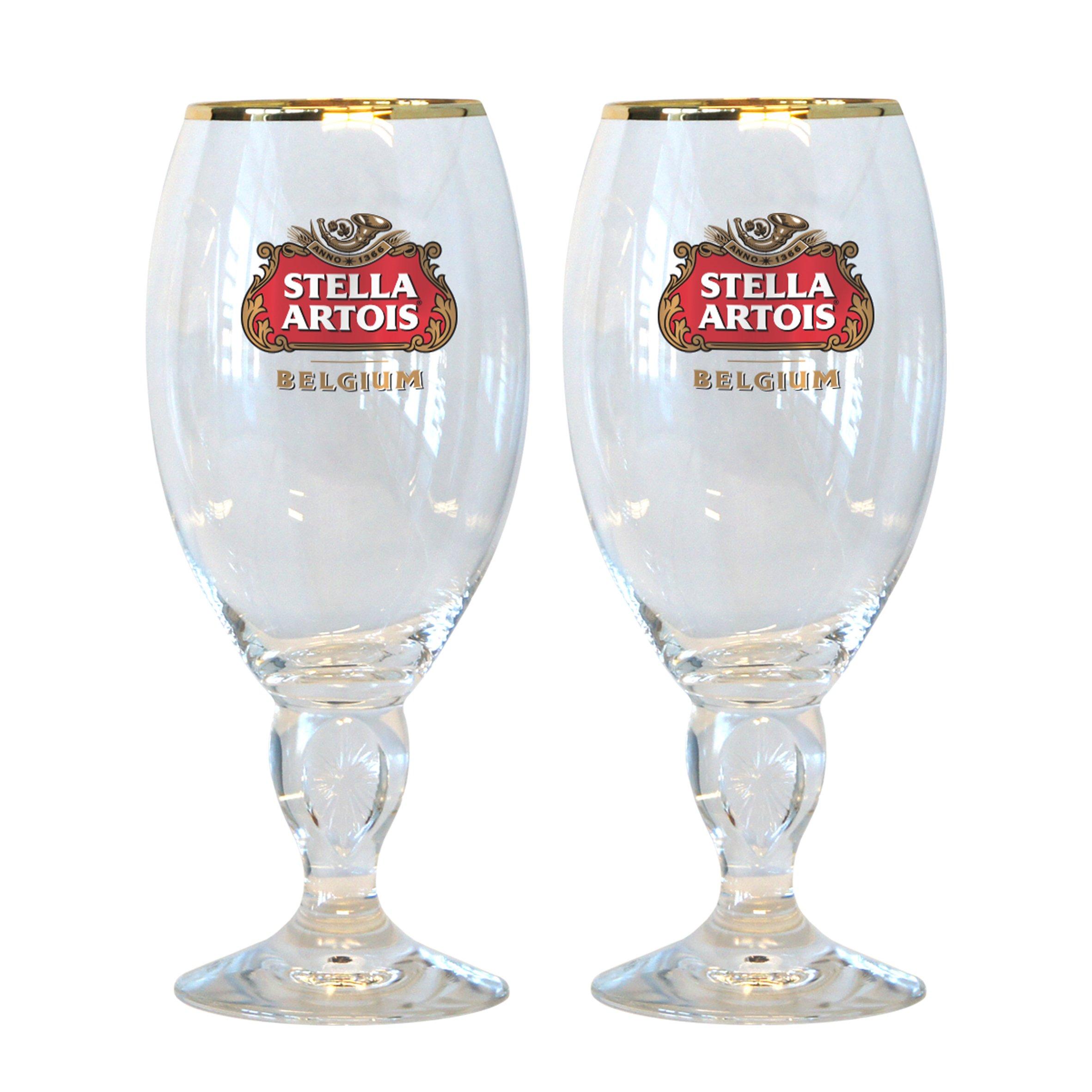 Stella Artois 50-Centiliter Star Chalice, Set of 2