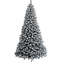 KING OF CHRISTMAS Prince Flock Artificial Christmas Tree