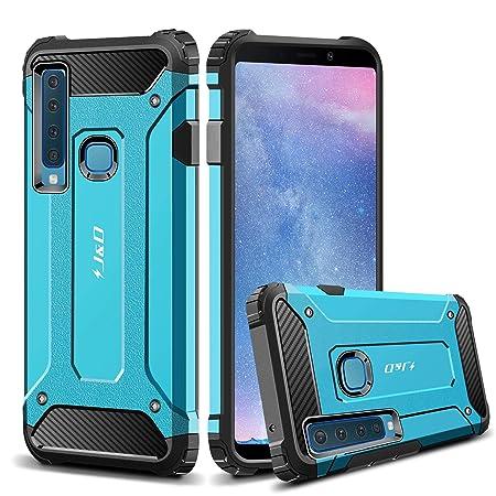 J & D Kompatibel für Galaxy A9 2018 Hülle, Galaxy A9 Star Pro 2018 Hülle, [ArmorBox] [Doppelschicht] [Heavy-Duty-Schutz] Hybr